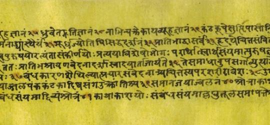 Yogasutra text